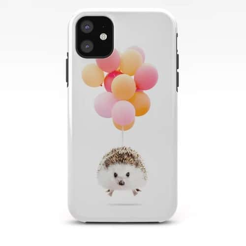 Hedgehog Balloons Phone Case