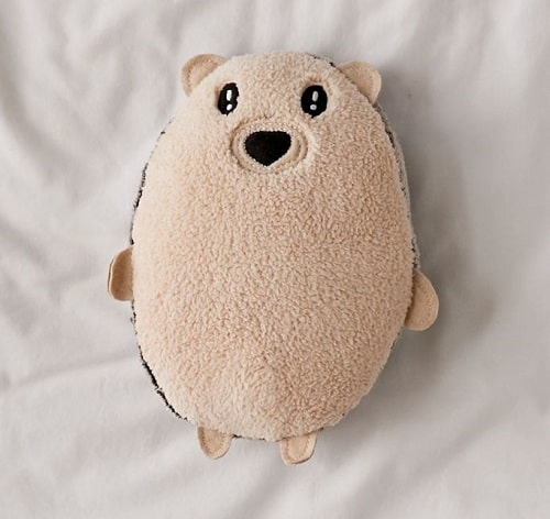 Hedgehog Plush Throw Pillow