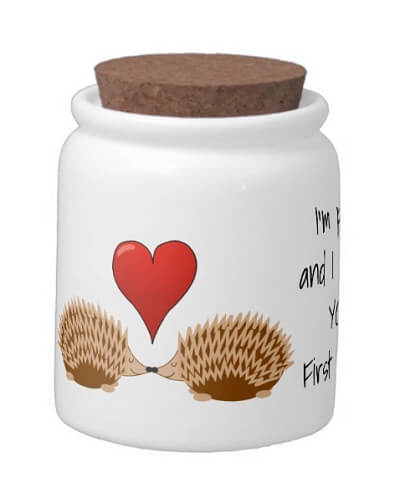 I'm picky and I choose YOU Candy Jar