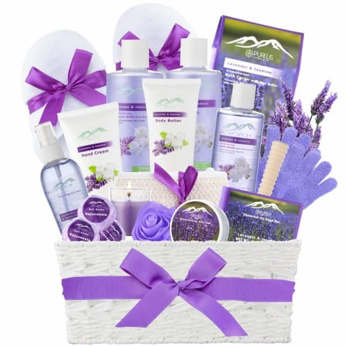 Lavender Ultimate Spa Gift Basket By Broadwaybasketeers Com: Gifts For Working Moms • Absolute Christmas