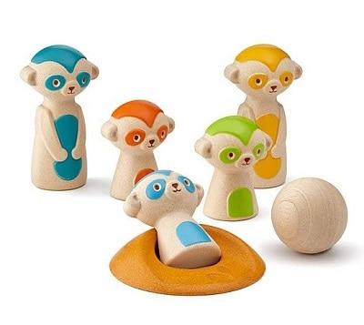 Meerkat Bowling Set