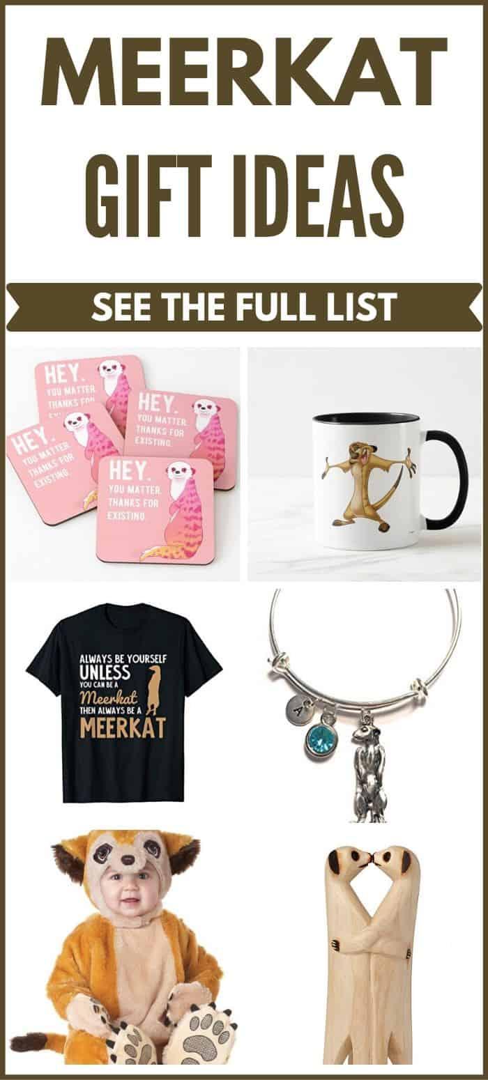 Meerkat Gift Ideas