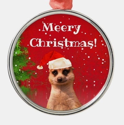 Meery Christmas Ornament