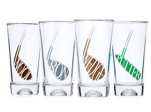 Set of Fore! Golf Glasses