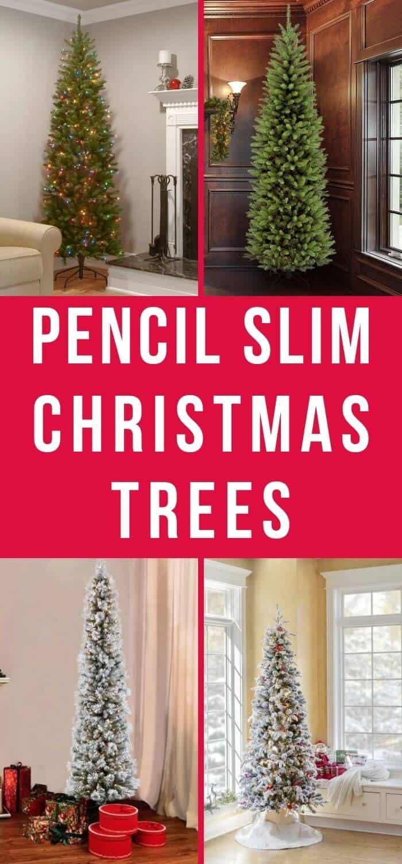 Best Pencil Slim Christmas Trees