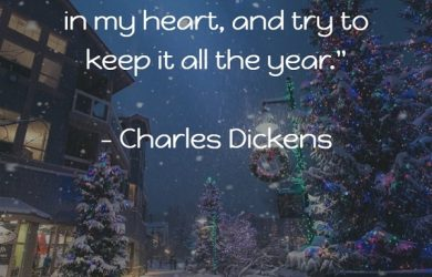 Christmas Quote Charles Dickens