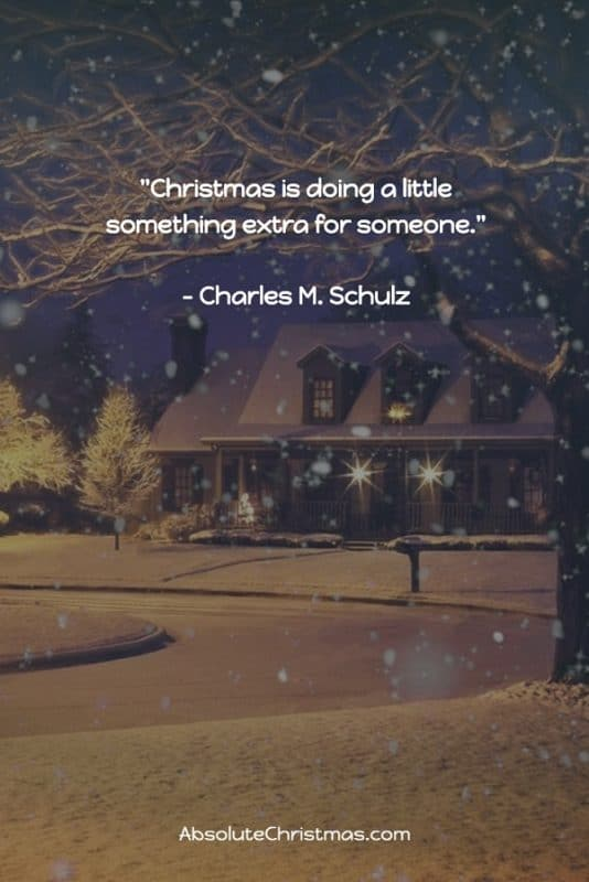 Christmas Quote Charles M Schulz