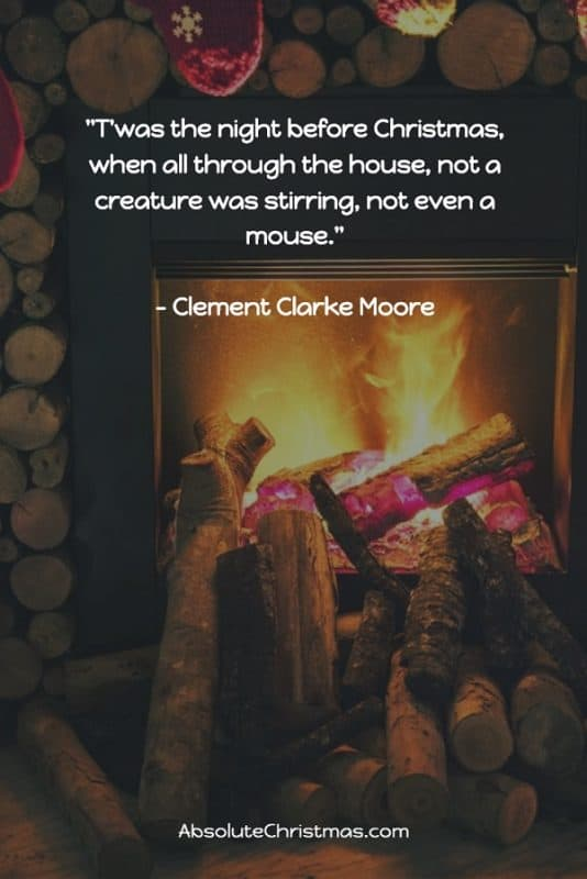 Christmas Quote Clement Clarke Moore