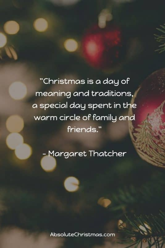 Christmas Quotes Margaret Thatcher