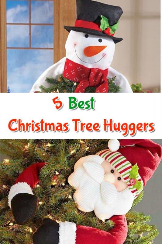 Christmas Tree Huggers pin