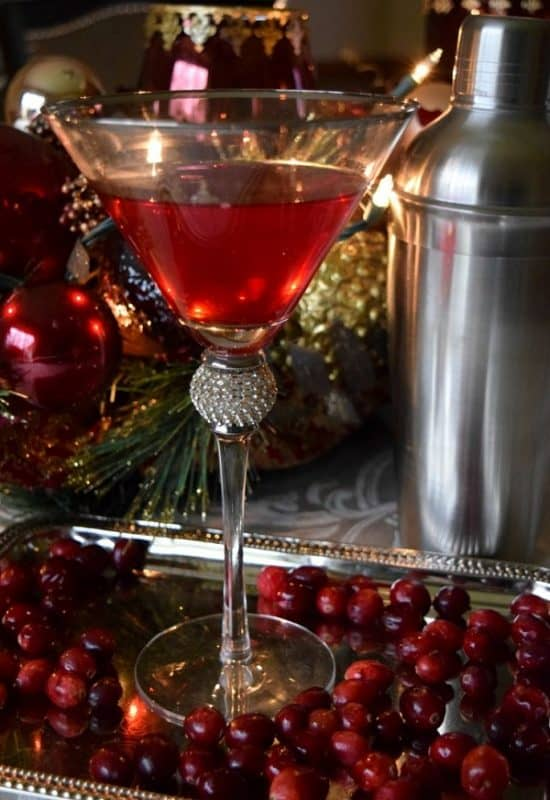 Cranberry Kringle Cocktail