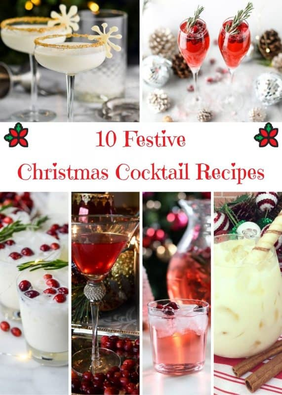 Festive Christmas Cocktail Recipes