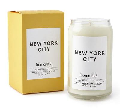 Homesick New York City Candle