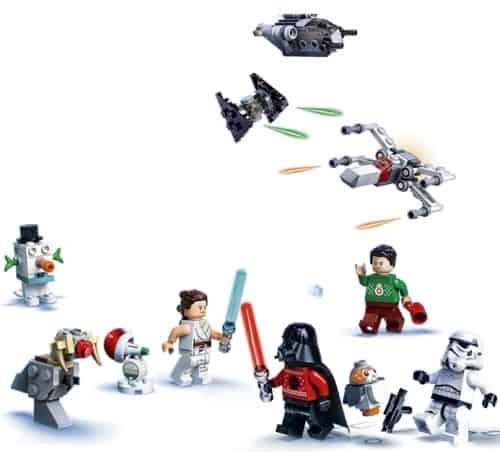 LEGO Star Wars Advent Calendar 2020 Contents
