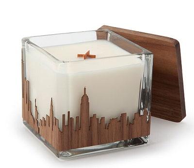 NYC Skyline Candle
