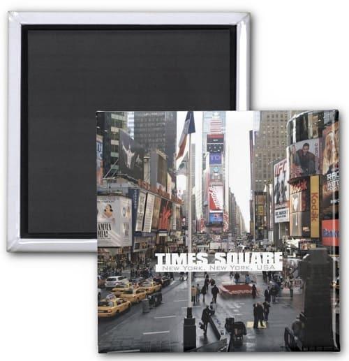 New York City Times Square Fridge Magnet