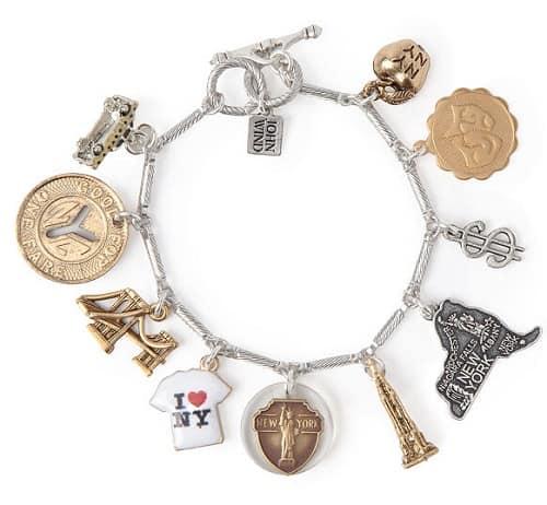 New York My City My Love Charm Bracelet