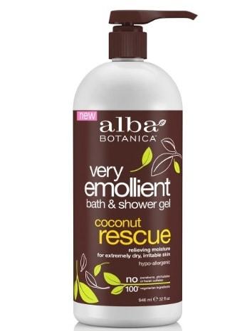 Alba Very Emollient Coconut Rescue Bath & Shower Gel