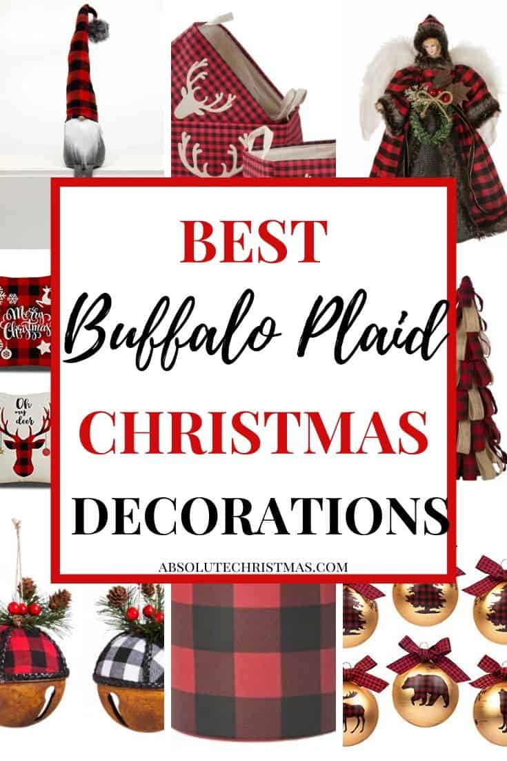Buffalo Plaid Christmas Decorations