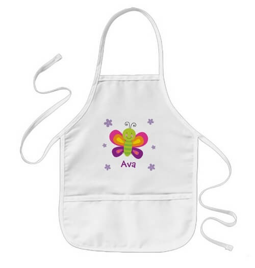 Butterfly Apron for Kids