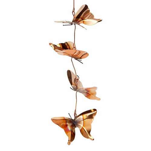 Butterfly Rain Chain - Butterfly Gifts