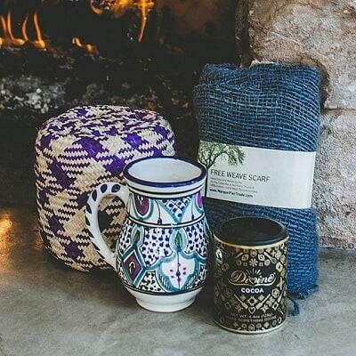 Cozy Global Gift Basket