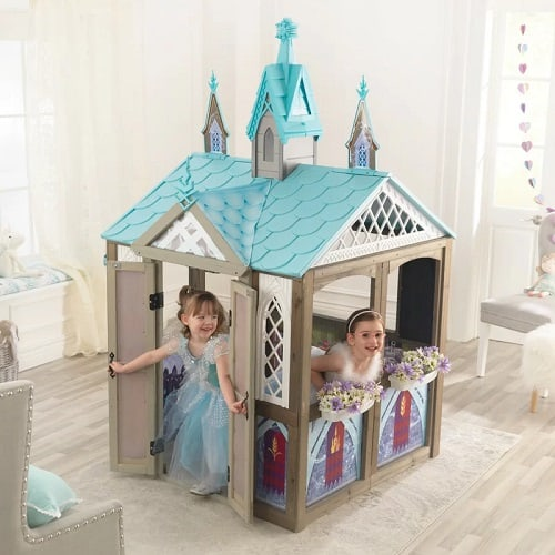 Disney Frozen Arendelle Solid Wood Playhouse