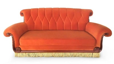 Friends Central Perk Coffee Shop 3-Seater Couch Replica