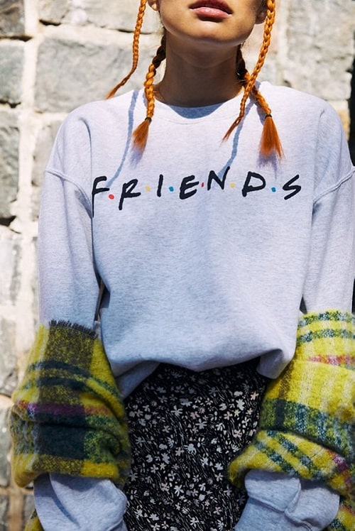 Friends Logo Crew Neck Sweatshirt