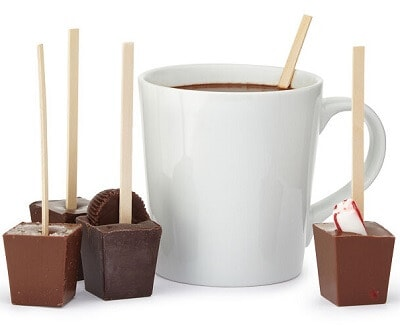 Hot Chocolate on a Stick - Hygge Gifts for Her