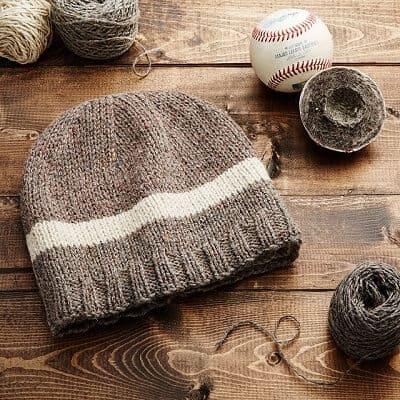MLB Game-Used Baseball Beanie