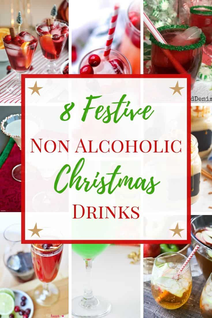 Non Alcoholic Christmas Drinks - Holiday Mocktails