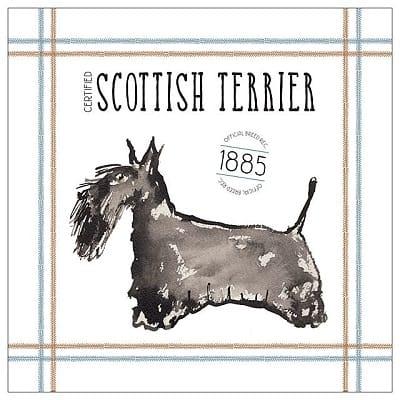 Pedigree Poem Pillow - Scottish Terrier