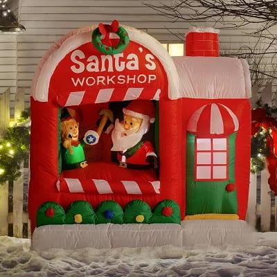 Santa Workshop Inflatable