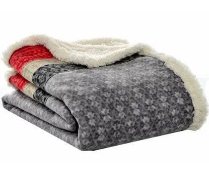 Sherpa Throw Blanket - Cozy Gift Ideas