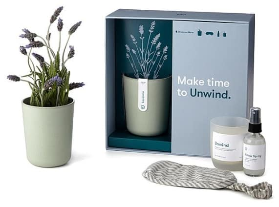 Unwind Lavender Gift Set | Cozy Gifts for Her