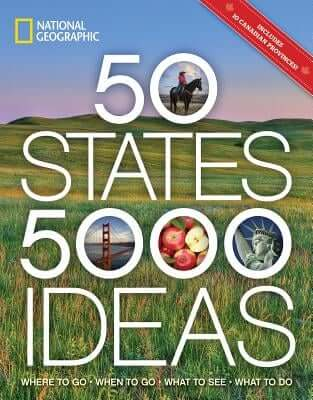 50 States, 5,000 Ideas Book for Travelers