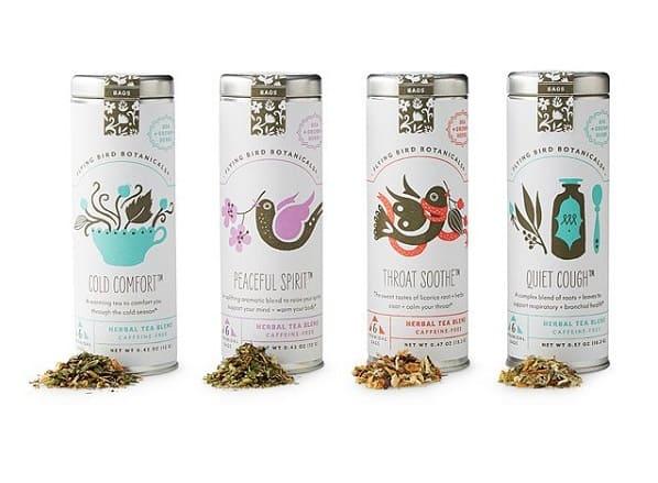 Cold Weather Comfort Tea Gift Set | Tea tin gifts