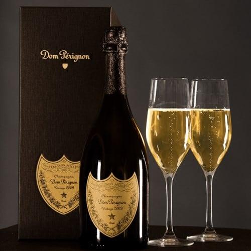 Dom Perignon Champagne In A Gift Box
