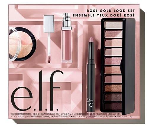 E.L.F. Cosmetics Rose Gold Look Set