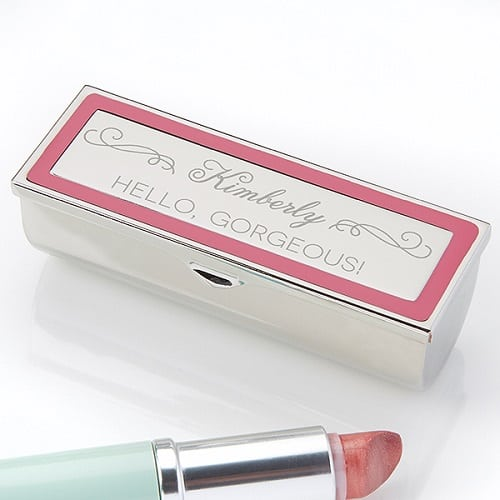 Engraved Lipstick Case