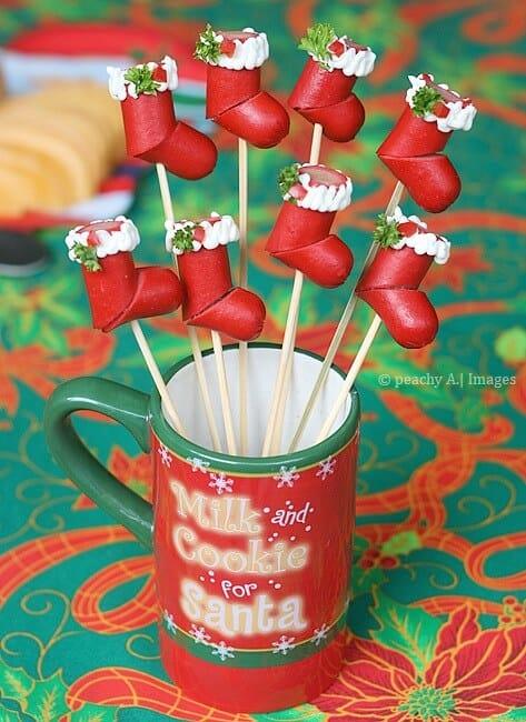HO-HO-HO Hotdog Christmas Stockings