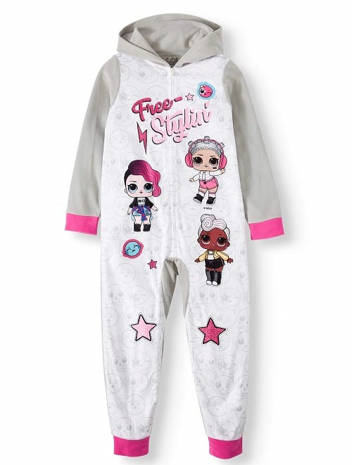 L.O.L. Surprise! Girl's Pajama Blanket Sleeper for Little Girls & Big Girls