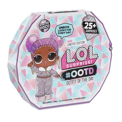 L.O.L. Surprise! #OOTD Winter Disco with Exclusive Doll & 25+ Surprises