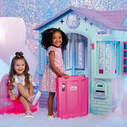 L.O.L. Surprise! Winter Disco Playhouse with Disco Ball and Inflatable Chair - Best L.O.L. Surprise Gifts
