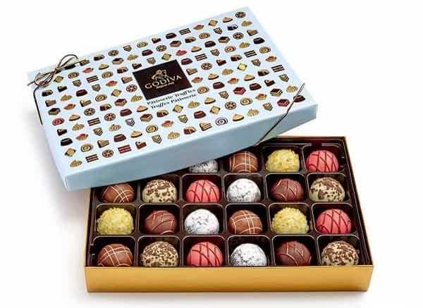 Godiva Patisserie Dessert Truffles Gift Box