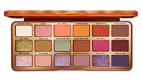 Pumpkin Spice Warm & Spicy Eye Shadow Palette - Makeup Gifts for Teens