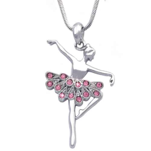 ballerina pendant necklace