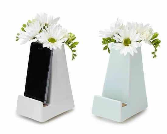 Bedside Smartphone Vase - Christmas for Women Under 50 Dollars