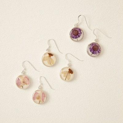 Birth Flower Earrings